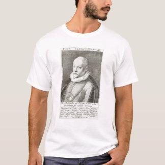 Retrato de Roland de Lassus 1593-94 Camiseta