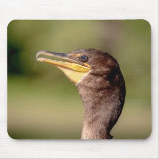 Retrato de um Cormorant Mouse Pad
