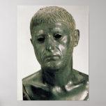 Retrato de um guerreiro romano desconhecido, ANÚNC Poster