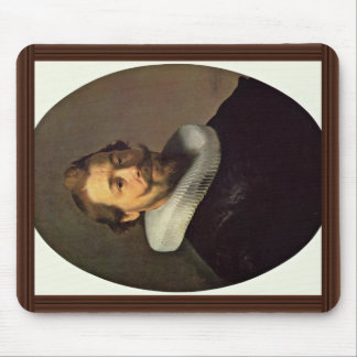 Retrato de um homem. Pela oficina de Rembrandt Mousepad