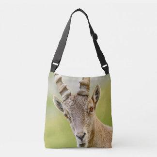 Retrato de um íbex bolsas carteiro