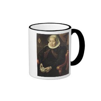 Retrato de uma mulher idosa, 1603 canecas