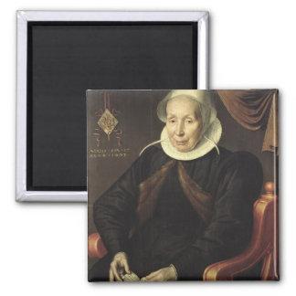 Retrato de uma mulher idosa, 1603 imãs de geladeira