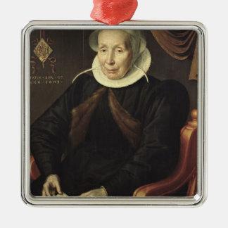 Retrato de uma mulher idosa, 1603 enfeites para arvore de natal
