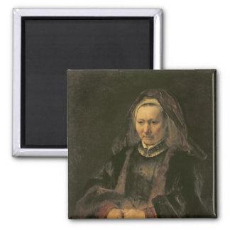 Retrato de uma mulher idosa, C. 1650 Ima