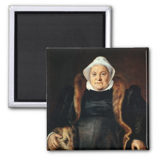 Retrato de uma mulher idosa ima