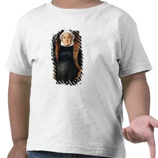Retrato de uma mulher idosa camisetas