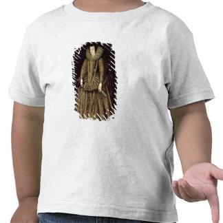 Retrato de uma senhora no vestido Isabelino Camiseta