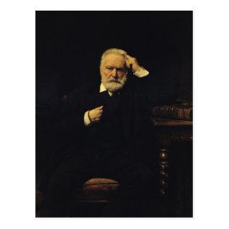 Retrato de Victor Hugo 1879 Cartões Postais