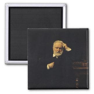 Retrato de Victor Hugo 1879 Imã