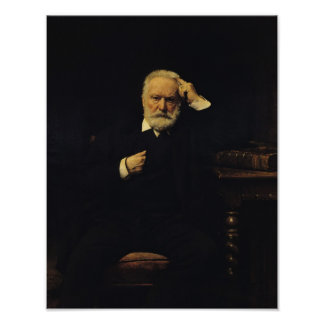 Retrato de Victor Hugo 1879 Posters