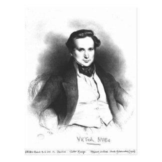 Retrato de Victor Hugo Cartões Postais