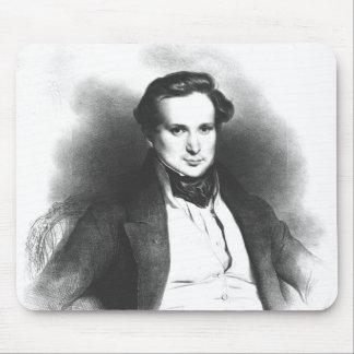 Retrato de Victor Hugo Mousepad