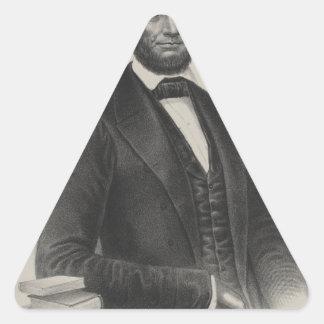 [Retrato de Wagner & de guincho de Lincoln.] c1860 Adesivos