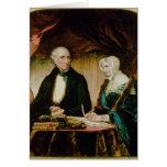 Retrato de William e de Mary Wordsworth, 1839 Cartão Comemorativo