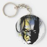 Retrato do Airbrush de Batman Chaveiro
