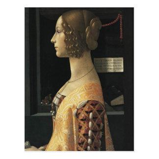 Retrato do cartão de Giovanna Tornabuoni