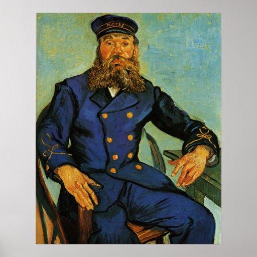 Retrato do carteiro Joseph Roulin - Van Gogh Posters