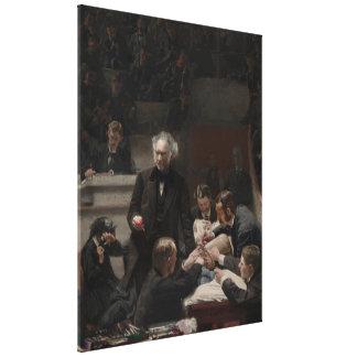 Retrato do Dr. Samuel D. Efectivação por Thomas Ea Impressão De Canvas Envolvidas