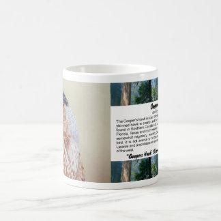 Retrato do falcão dos tanoeiros caneca de café