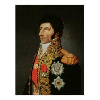 Retrato do marechal Charles Jean Bernadotte Cartão Postal