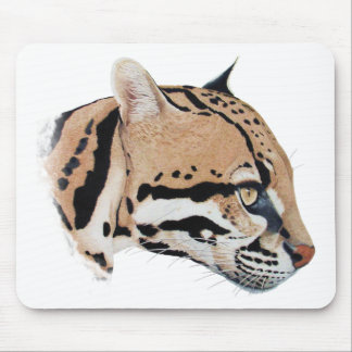 Retrato do Ocelot Mouse Pad