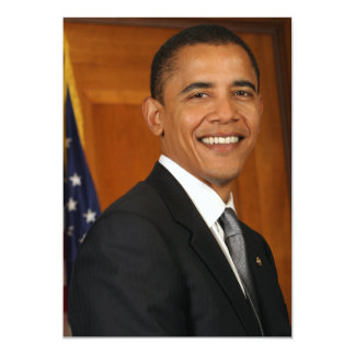 Retrato do oficial de Barack Obama Convites