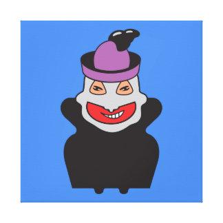 Retrato do oficial de Doce-FO ClupKitz Impressão Em Tela Canvas