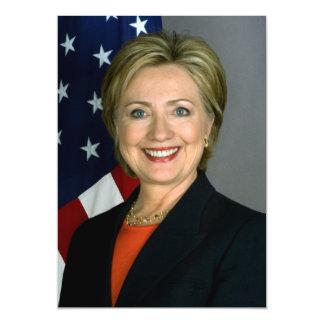 Retrato do oficial de Hillary Clinton