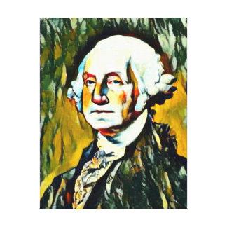 Retrato do óleo de George Washington Impressão Em Tela