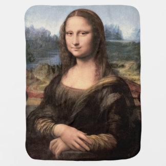 Retrato/pintura de Mona Lisa Cobertores De Bebe