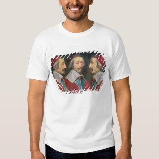 Retrato triplo da cabeça de Richelieu, 1642 Camiseta