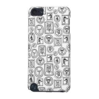 Retratos animais - pretos & branco/Andrea Lauren Capa Para iPod Touch 5G