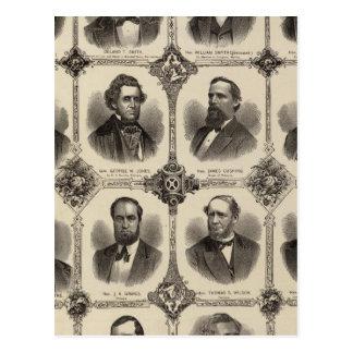 Retratos POR EXEMPLO do oleiro, Delano T Smith Cartão Postal