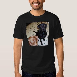 Retrievers, pai e filho de Labrador T-shirt