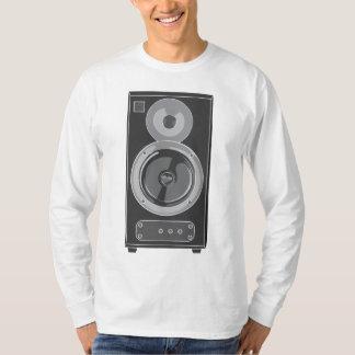 Retro audio/vintage da música estereofónica do ~ camiseta