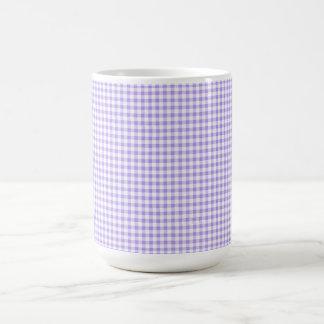 Retro-Blueberry-Gingham-Multi-Styles_Colors Caneca De Café