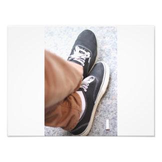 Retroceda seus pés acima fotografias