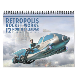 Retropolis Rocket trabalha o calendário