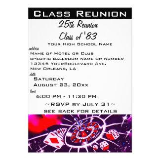 Reunião de classe convites personalizados
