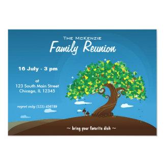 Reunião de família convite 12.7 x 17.78cm