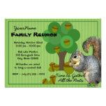 Reunião de família do esquilo