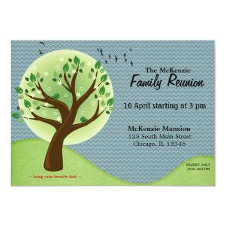 Reunião de família do primavera convite 12.7 x 17.78cm