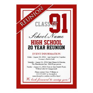 Reunião de segundo grau formal elegante convite personalizados