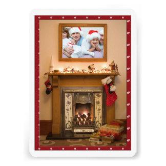 Reunião elegante da festa de Natal/família da lare Convites