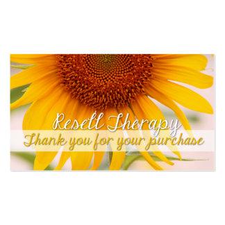 Revenda a terapia cartão de visita