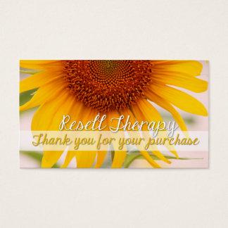 Revenda a terapia cartão de visitas