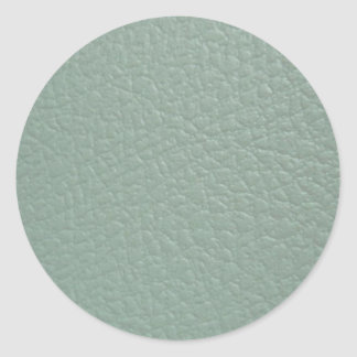 Revestimento de couro cinzento esverdeado do olhar adesivo