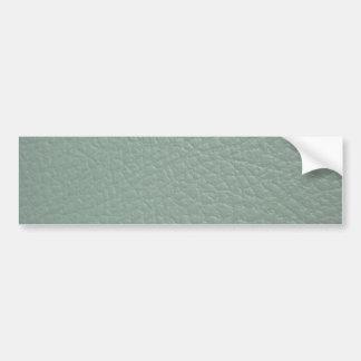 Revestimento de couro cinzento esverdeado do olhar adesivo para carro
