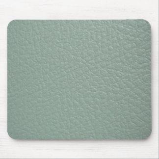 Revestimento de couro cinzento esverdeado do olhar mouse pad